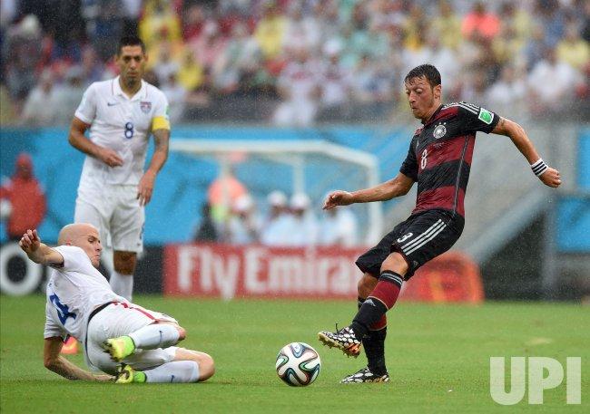 2014 FIFA World Cup Group G - USA v Germany