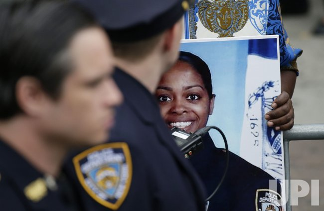NYPD officer Miosotis Familia funeral services in New York