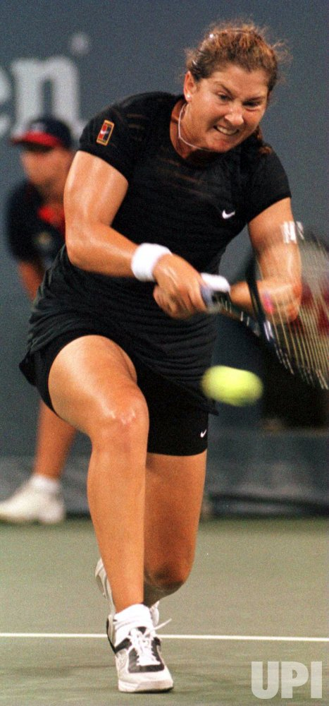 U.S. OPEN 98--Monica Seles during 1st round action