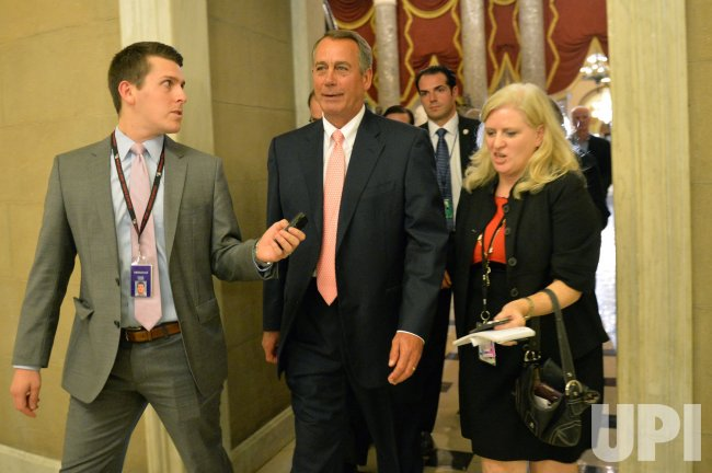 Speaker of the House John Boehner in Washington