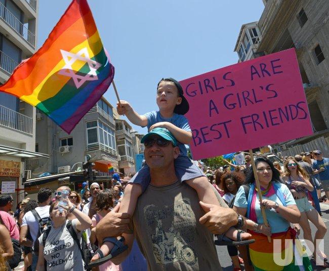 Gay Pride Parade Tel Aviv Israel Upi Com