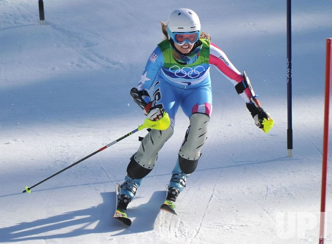 USA's Julia Mancuso takes silver in the Ladies' Combined in Whistler