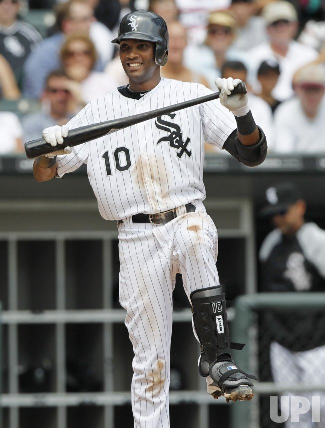 White Sox Ramirez strikes out against Yankees in Chicago