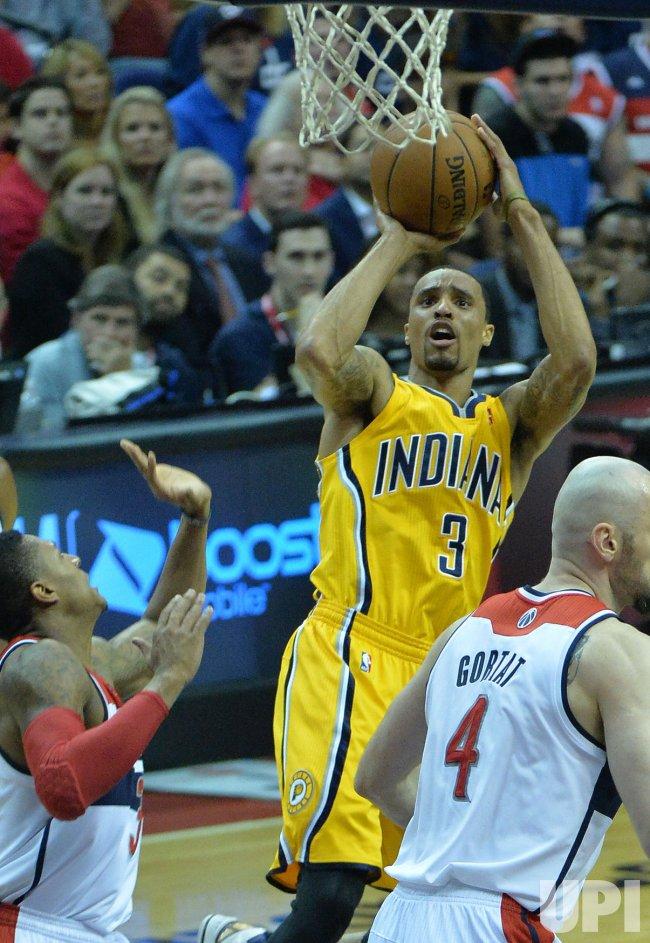 Washington Wizards vs Indiania Pacers in Washington