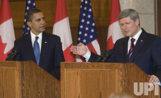 U.S. President Barack Obama's takes first official foreign visit to Canada
