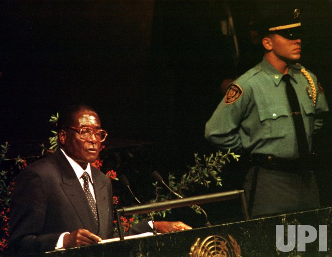 Zimbabwe addresses the 54th session of the UN General Assembly