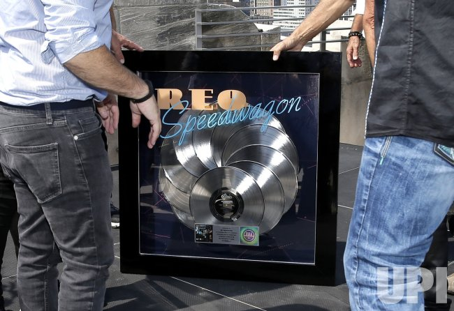 REO Speedwagon's 'Hi Infidelity' receives 10X Diamond Award - UPI com