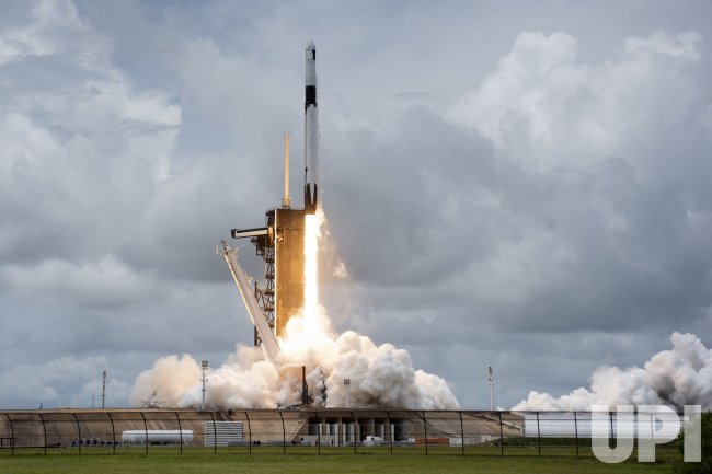 SpaceX Launches Cargo Dragon from the Kennedy Space Center, Florida