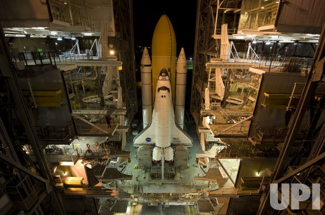 NASA's space shuttle Atlantis rolls out to Launch Complex ...