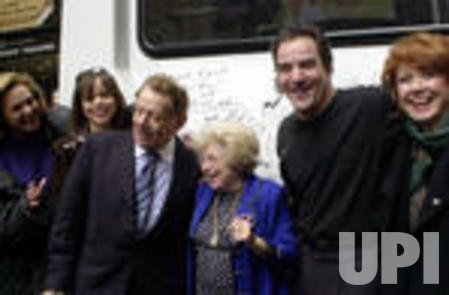 Broadway stars ship a special bus to aid the street children of the Ukraine