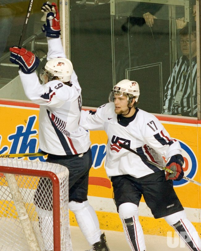 WORLD JUNIOR HOCKEY CHAMPIONSHIPS, U.S.A. VS. SWITZERLAND
