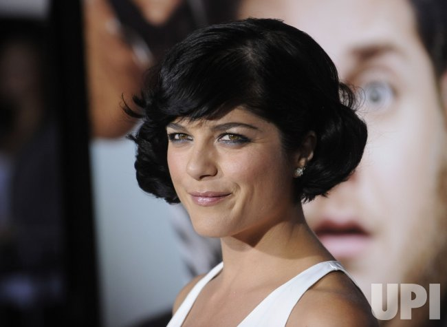 "Selma Blair attends the premiere of the film ""Get Him to the Greek"" in Los Angeles"