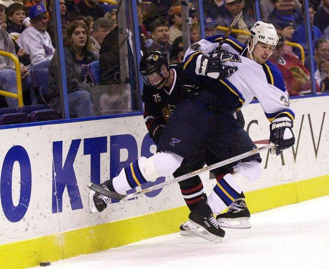 St. Louis Blues vs Chicago Blackhawks hockey
