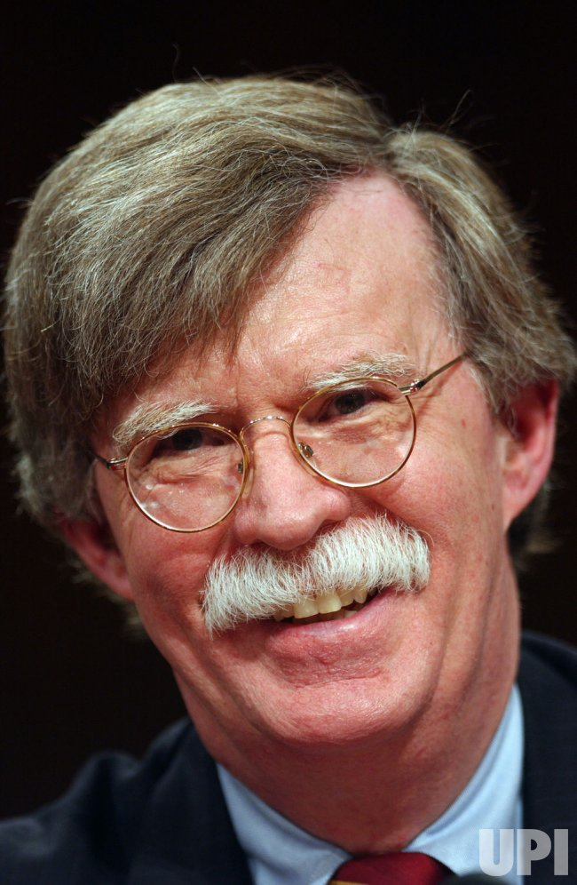 BOLTON TESTIFIES BEFORE CONGRESS