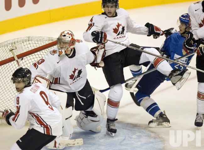 WORLD JUNIOR HOCKEY CHAMPIONSHIPS, CANADA VS. FINLAND