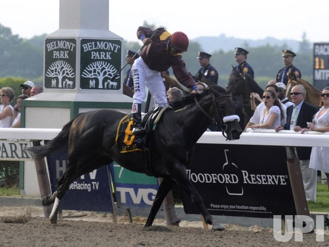 Da'Tara wins the 140th Belmont Stakes in New York