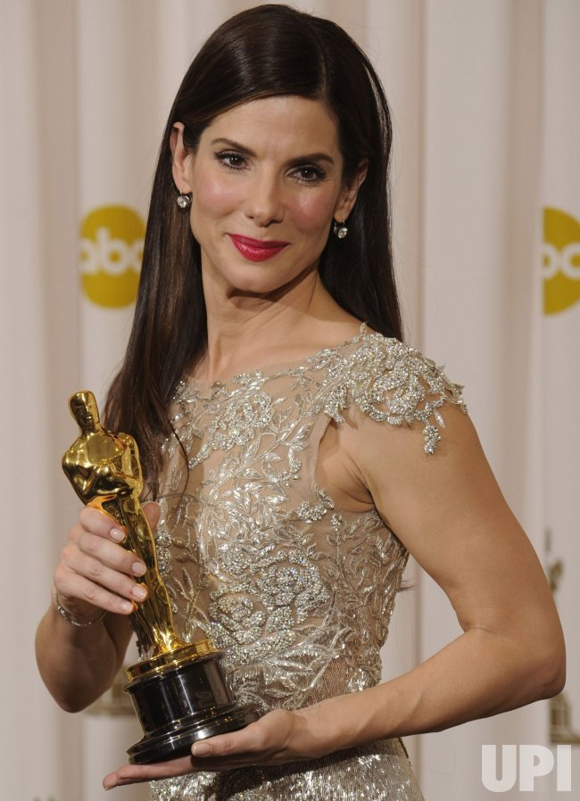 Sandra Bullock wins Best Actress Oscar at the Academy Awards in Hollywood