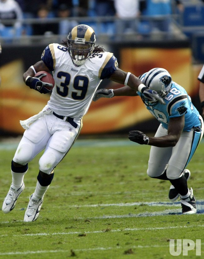 CAROLINA PANTHERS VS ST LOUIS RAMS
