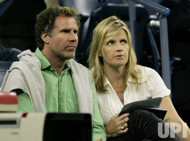 Will Ferrell attends the US Open tennis in New York