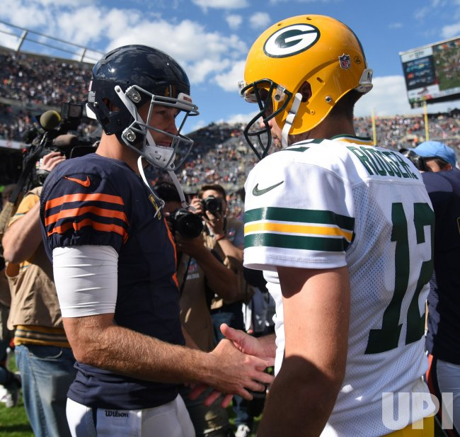 The Green Bay Packers play the Chicago Bears in Chicago
