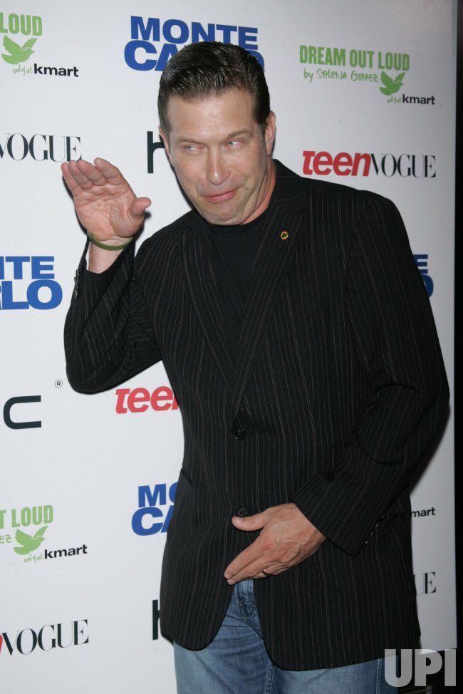 "Stephen Baldwin arrives for the ""Monte Carlo"" screening in New York"