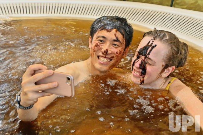 Unique hot spa in Japan