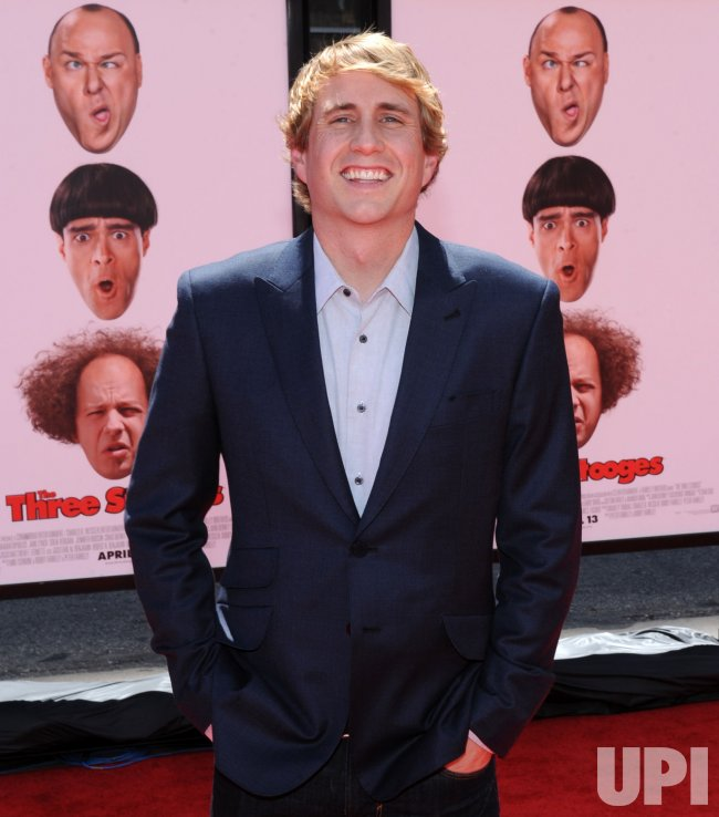 """Kirby Heyborne attends """"The Three Stooges"""" premiere in Los Angeles"""