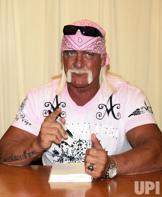 Hulk Hogan Book Signing in New York