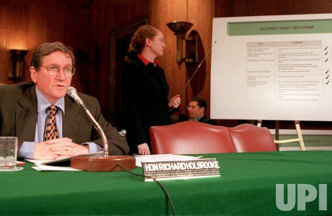 U.S. Ambassador to the United Nations, Richard Holbrooke
