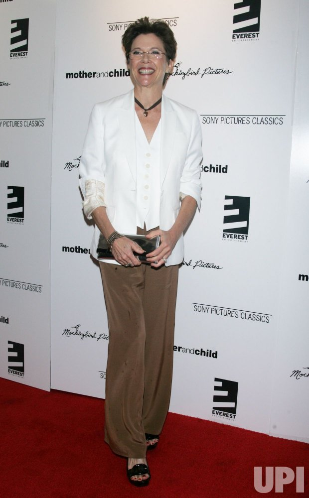 """Annette Bening arrives for the """"Mother and Child"""" Premiere in New York"""