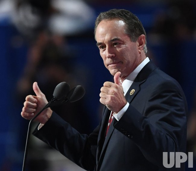 Rep. Chris Collins seconds Trump nomination at the RNC in Cleveland