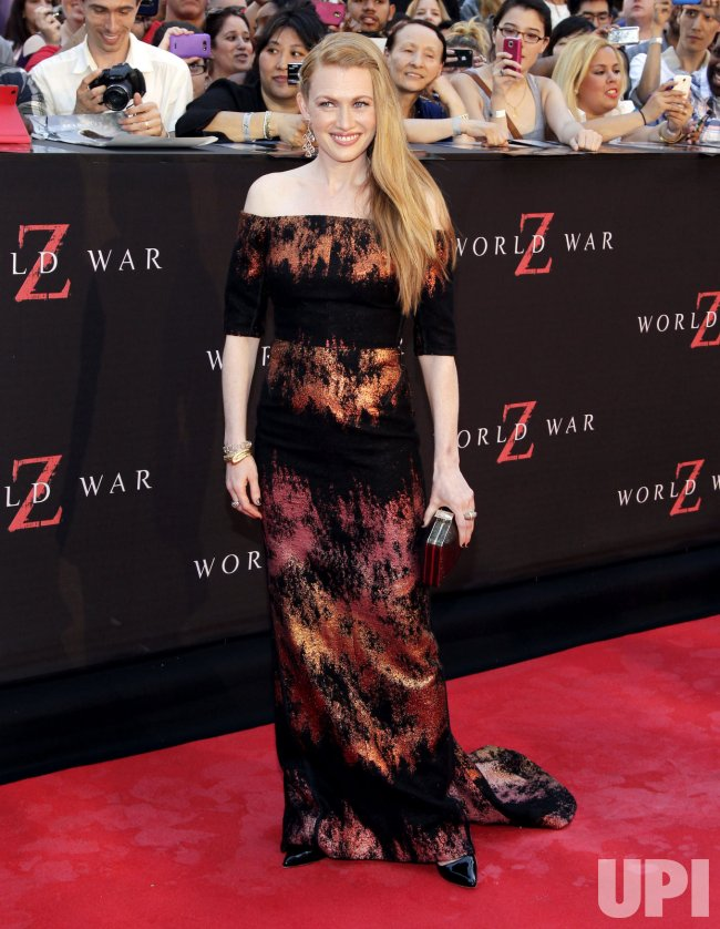 World War Z premiere in New York