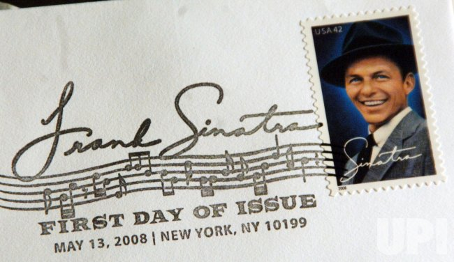 U.S. Postal dept honors Sinatra with a stamp ceremony in New York