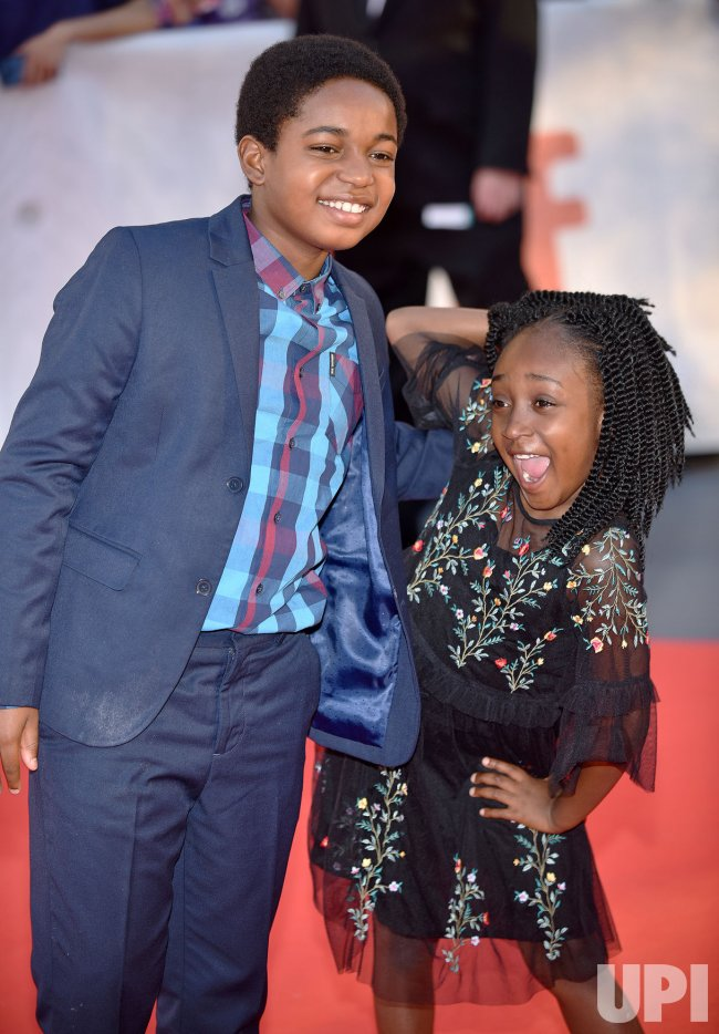 Serenity and Isaac Brown attend 'Kings' world premiere at Toronto International Film Festival