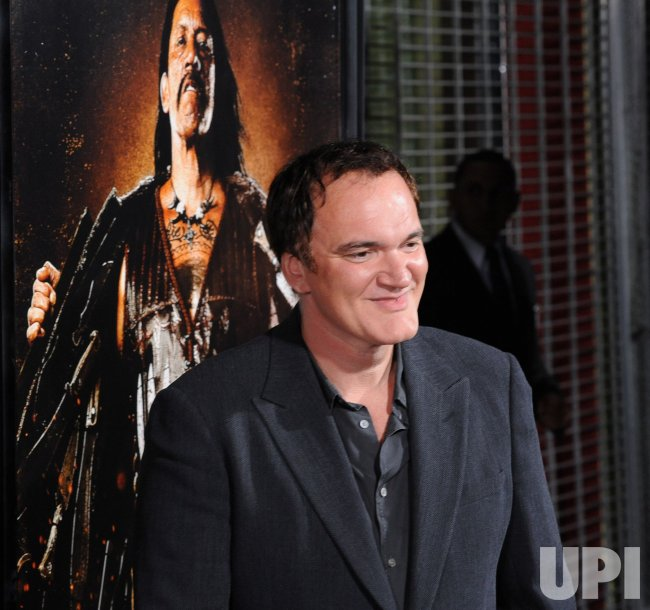 "Quentin Tarantino attends the ""Machete"" premiere in Los Angeles"