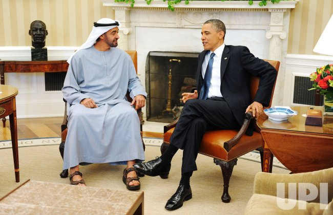 Obama meets with UAE Crown Prince at White House