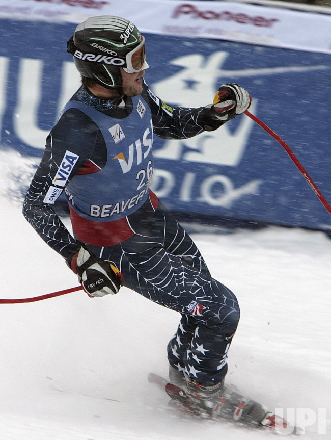 MEN'S WORLD CUP ALPINE DOWNHILL