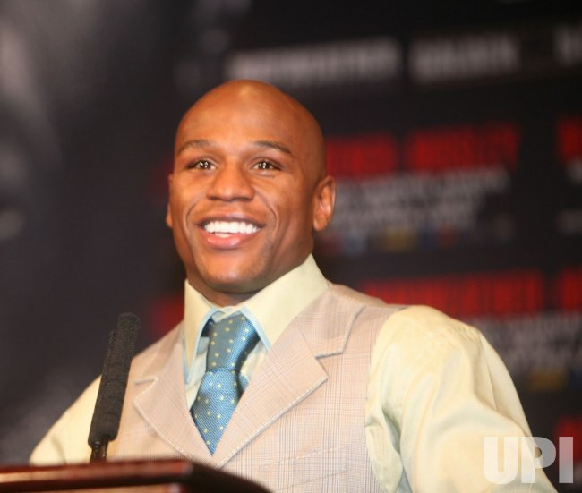 Mayweather-Mosley post fight press conference