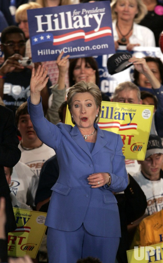 Hillary Clinton Campaigns in Indianapolis, Indiana