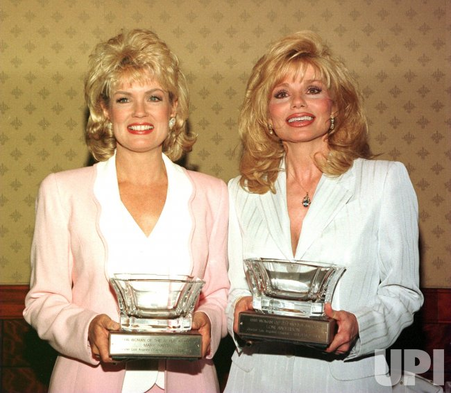 Mary Hart and Loni Anderson