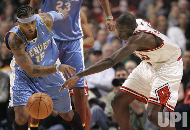 DENVER NUGGETS VS CHICAGO BULLS
