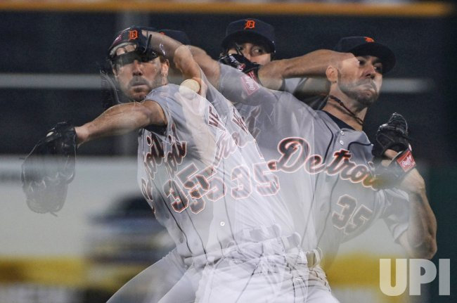 Oakland A's vs. Detroit Tigers in Game 5 of the ALDS