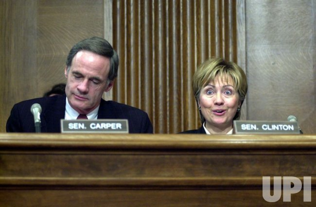 Sen. Hillary Clinton at Whitman confirmation hearing