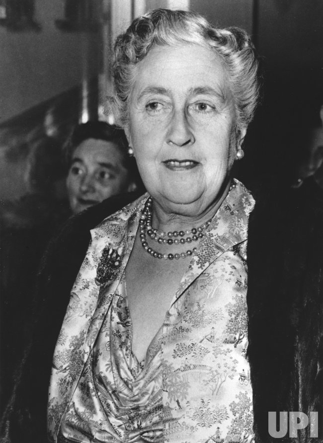 Agatha Christie in a 1954 file photo..