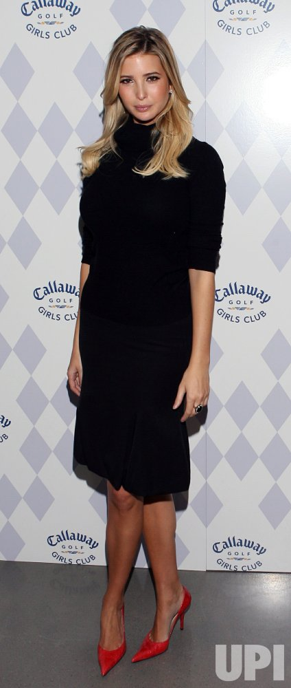 Ivanka Trump and Morgan Pressel host the Callaway Girls Club Event in New York