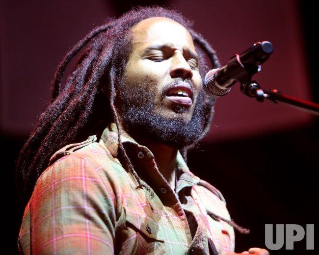 Ziggy Marley performs in concert in California