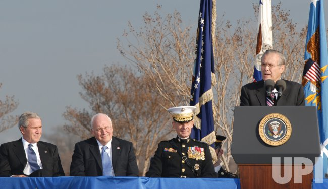 SECRETARY RUMSFELD HONORED AT FAREWELL CEREMONY