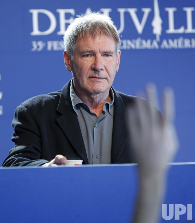Harrison Ford arrives at the 35th Annual American Film Festival in Deauville