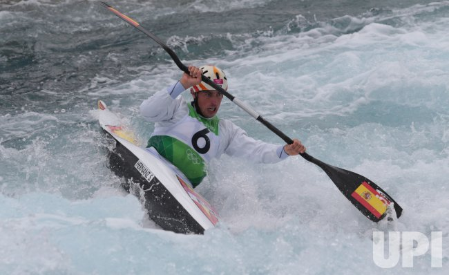 Men's kayak Slalom Semi-Final at 2012 Olympics in London