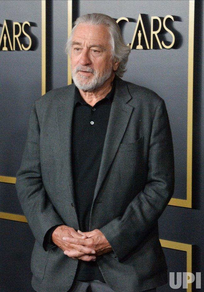 Robert De Niro attends the Oscar nominees luncheon in Los Angeles
